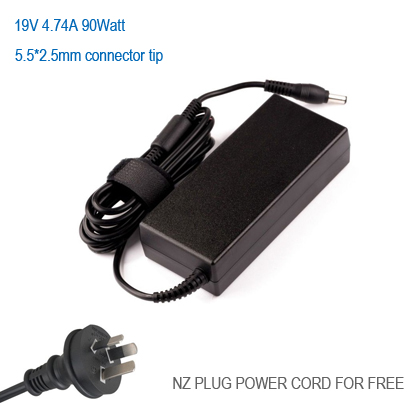 19V 4.74A 90Watt charger for Toshiba Satellite L855